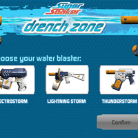 Super Soaker Drench Zone Game