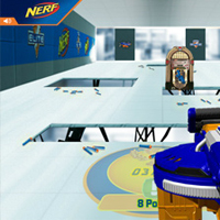 Nerf Hail-Fire Test Labs Game