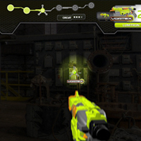 Nerf Light-It-Up: Nerf Glow-In-the-Dark Game