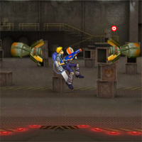 Nerf Jet Pack Attack Game