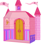 PLAYSKOOL Decorate & Print Your Own Castle Activity