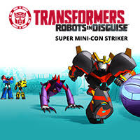 TRANSFORMERS SUPER MINI-CON STRIKER