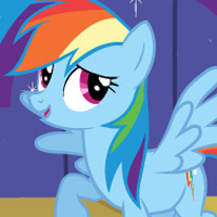 Game: Rainbow Dash Puzzles