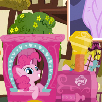 Game: My Little Pony Friendship Express Train™ Puzzle Adventure