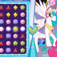 MY LITTLE PONY - Jeu : Aligne les diamants