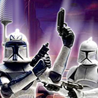 STAR WARS - The Clone Wars Showdown Game