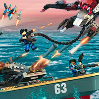 KRE-O BATTLESHIP Alien Ambush