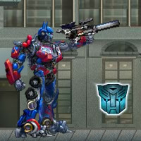 TRANSFORMERS BATTLE FOR THE MATRIX Game