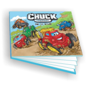 CHUCK & FRIENDS - Historiebok