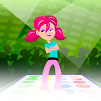 The TWISTER Grooves Game