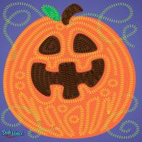 Modello stampabile DohVinci Zucca di Halloween