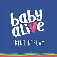Baby Alive Baby Alive Activities Coloring Book