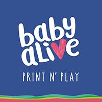 Baby Alive Print N' Play