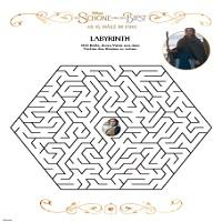 Disney Die Schöne und das Biest Labyrinth