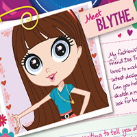 Littlest Pet Shop Web Activities - Blythe