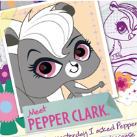 Littlest Pet Shop Web Activities - Pepper