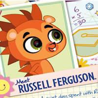 Littlest Pet Shop Web Activities - Russell
