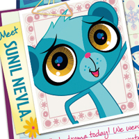 Littlest Pet Shop Web Activities - Sunil