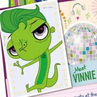 Littlest Pet Shop Web Activities - Vinnie