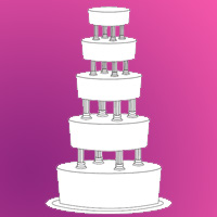 Wedding Activity - Decorate the Wedding Cake
