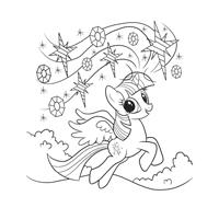 My little Pony Twilight Sparkle Malvorlage