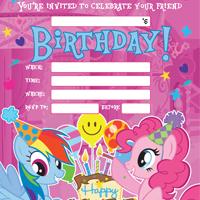 MY LITTLE PONY BIRTHDAY ACTIVITY 2