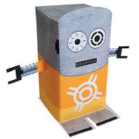 NERF Paper Craft Robot Target - Printable