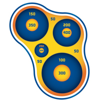 NERF Wall Target - Shapes (Printable)