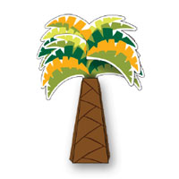 PLAY-DOH Palm Tree Activity