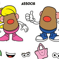 MR. POTATO HEAD - Associe