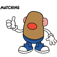MR. POTATO HEAD Matching Activity