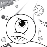 KOOSH Faceball Coloring Sheet 2