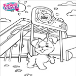 FurReal Friends Coloring Sheet for Get Up & GoGo, My Walkin' Pup