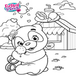 FurReal Friends Coloring Sheet for PomPom
