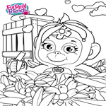 FurReal Friends Coloring Sheet for Cuddles