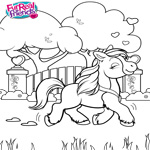 FurReal Friends Coloring Sheet for Butterscotch