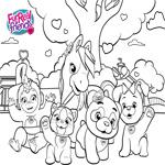 FurReal Friends Coloring Sheet Group Shot