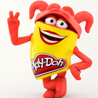 PLAY-DOH Red Doh Doh Colouring Page