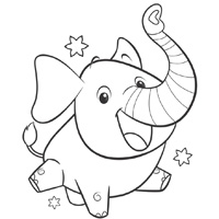 PLAYSKOOL ELEFUN & FRIENDS Coloring Page