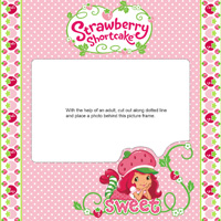 Strawberry's Sweet Photo Frame Activity