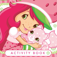 Strawberry Shortcake Activity Book