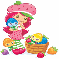 Berry Bushels of Fun Coloring Page