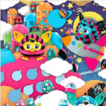 Furby Door Poster