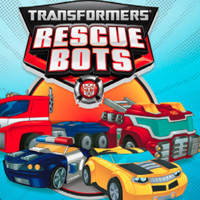 PLAYSKOOL HEROES Transformers Rescue Bots Printable Birthday Card