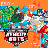 PLAYSKOOL HEROES Transformers Rescue Bots Printable Poster
