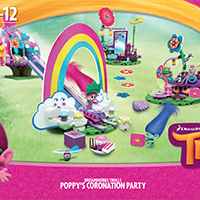 Dreamworks Trolls Poppy'S Coronation Party Instructions