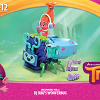 Dreamworks Trolls Dj Suki's Wooferbug Instructions