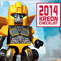 KRE-O TRANSFORMERS 2014 Checklist