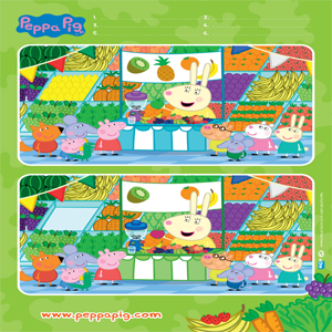 Peppa Pig: Fruit and Veg Spot the Difference
