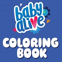 Baby Alive Coloring Book